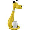 Настольная дитяча лампа з нічником Horoz SNOOPY 6W у формі Собачки Жовтого