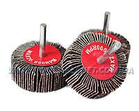 Круг шлифовальный лепестковый с оправкой (КЛО) 60*20*6 мм