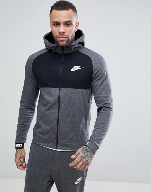 3f7366cb Толстовка Nike Sportswear Advance 15 Hoodie 861742-071 (Оригинал) -  Football Mall -