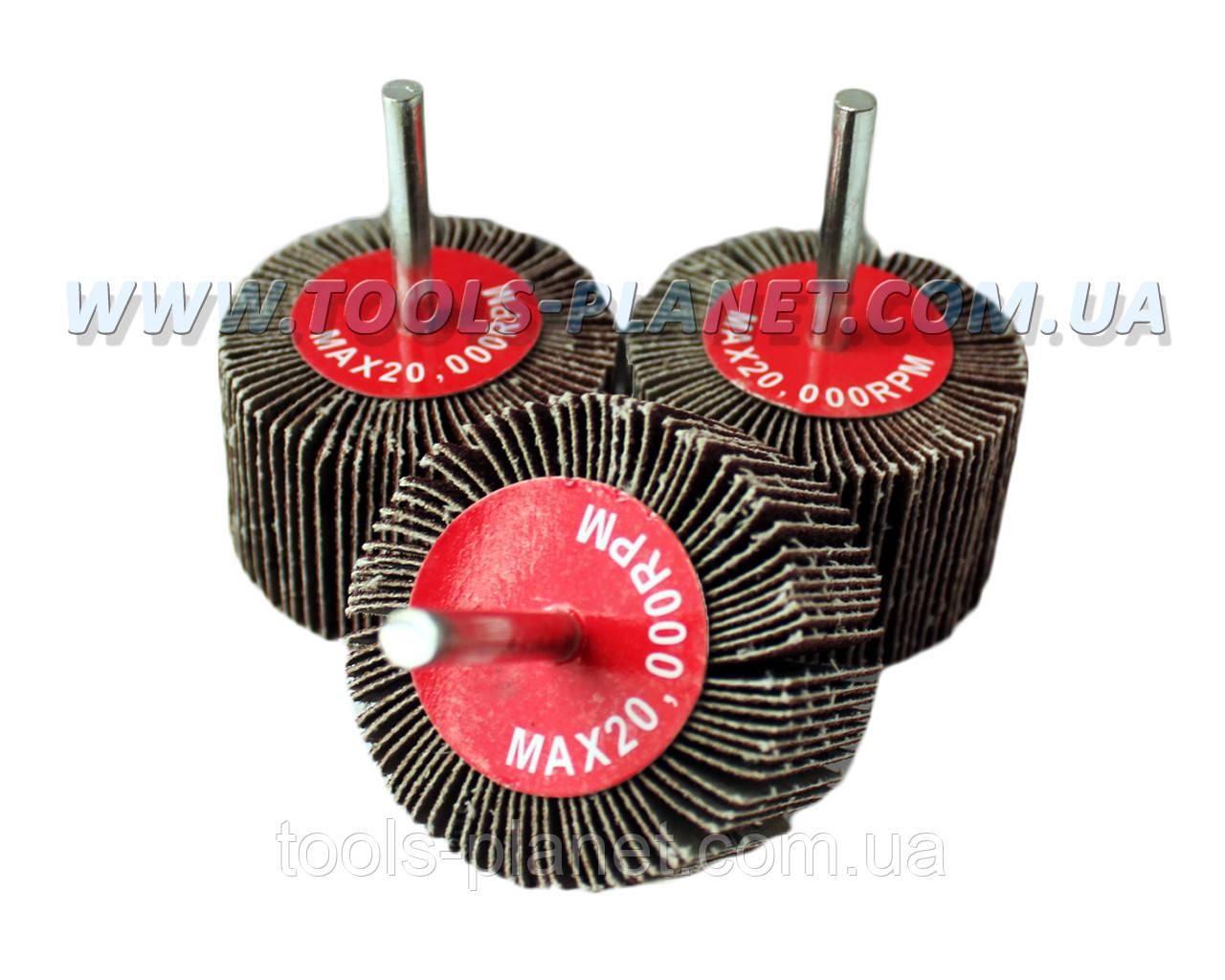 Круг шлифовальный лепестковый с оправкой (КЛО) 60*40*6 мм