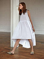 Платье льняное легкое молодежное. Цвет различный. Кэжуал стиль