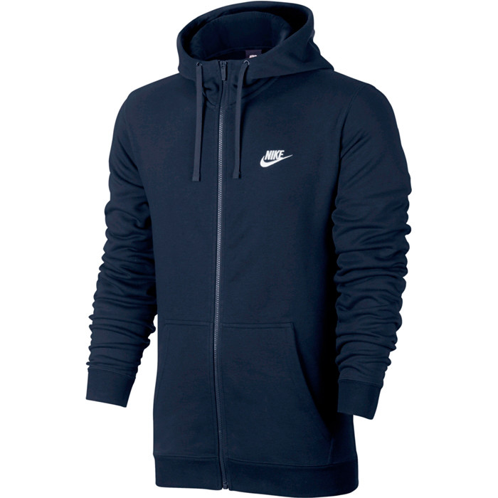 Толстовка Nike M Nsw Hoodie Fz Ft Club 804391-451 (Оригинал)