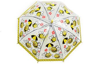 Зонт детский пчелы желтый