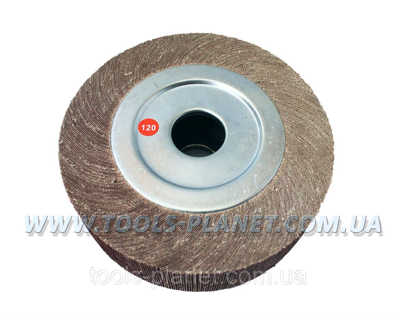 Круг шлифовальный лепестковый (КШЛ) 200*50*32 мм Р120