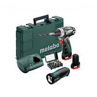 Аккумуляторная дрель-шуруповерт Metabo PowerMaxx BS Mobile Workshop (600079880)  Подробнее: https://rozetka.co