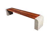 Лавка бетонная парковая