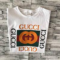 Футболка белая Gucci | Оригинальная бирка