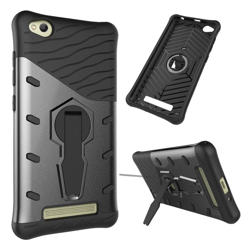 Противоударный чехол бампер Primo Sniper для Xiaomi Redmi 4A - Black