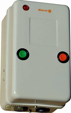 Пускач магнітний в металевому корпусі ПМЛк-1 40А 380В, фото 2