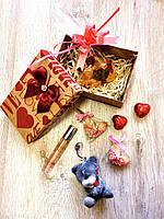 Подарочный набор с мишкой тедди и духами