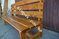 Скамейка для дачи 2000 мм