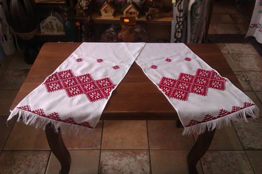 Вишитий рушник із традиційною вишивкою c9e92cb563dd5