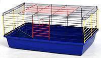 Клетка для морских свинок и кроликов Кролик-100 Лори (Лорі), разборная (краска), 1000х540х460мм