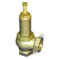 Клапан предохранительный муфтовый регулируемый латунный Ду32