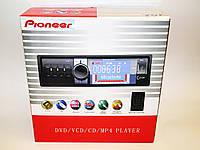 Автомагнитола пионер Pioneer 102 DVD USB+Sd съемная панель, фото 7