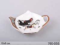 "Подставка под чайный пакетик ""Кронос"", 10х8 см, Lefard, 760-055"