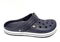 Шлепки-кроксы мужские Crocs синие KF0506