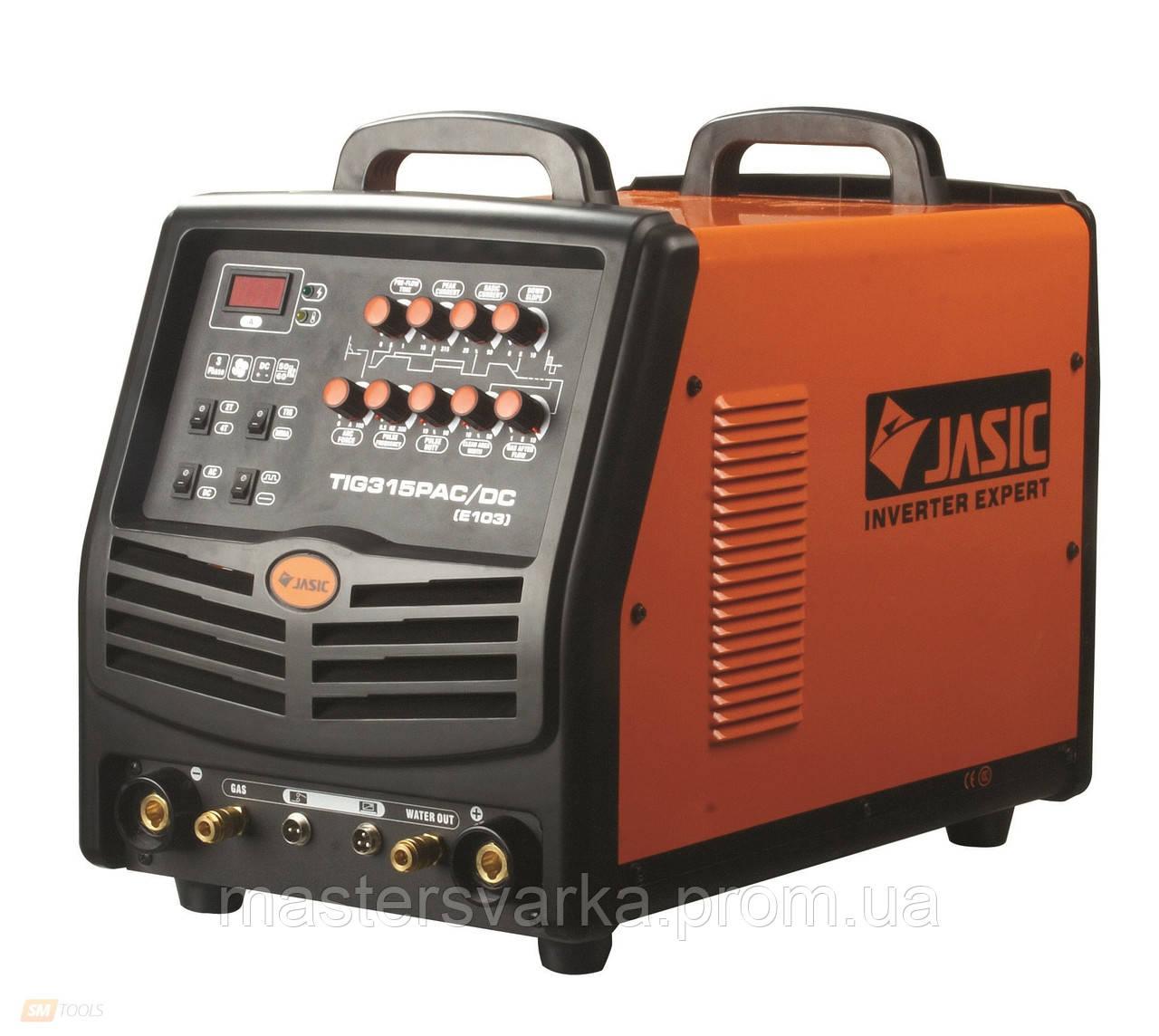 Аргонодуговой сварочный аппарат Jasic TIG-315P AC/DC (E103) 380V