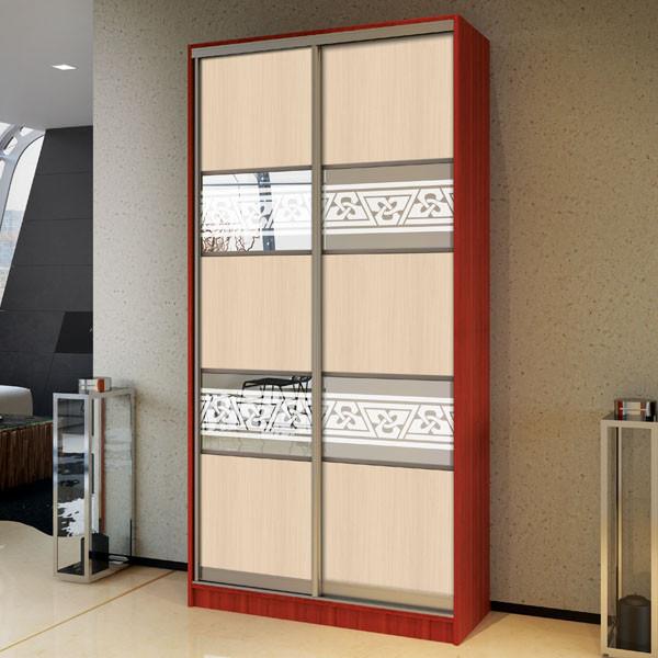 Шкаф-купе двухдверный 130 см