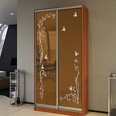 Шкаф-купе двухдверный 130 см, фото 3