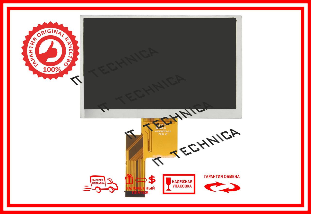 Матриця 165x105mm 40pin 1024x600 H-H07018FPC0-DD2