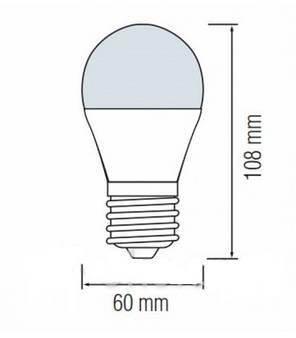 Лампочка світлодіодна  10W LED , фото 2