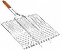 Решетка-гриль плоская средняя 59х40х30 см RG-5