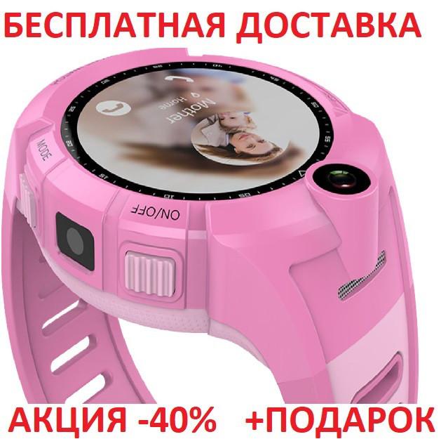Умные смарт часы детские телефон с GPS Smart Baby Watch Q610S картон часы телефон GPS трекер