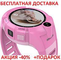 Умные смарт часы детские телефон с GPS Smart Baby Watch Q610S картон часы телефон GPS трекер, фото 1