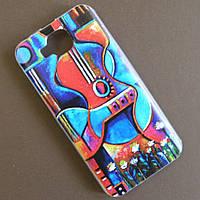 Силиконовый чехол с рисунком для Doogee X9 / X9 mini (Мексиканская гитара)
