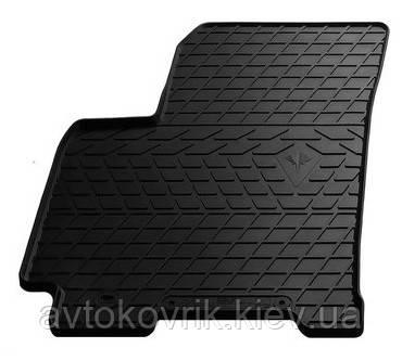 Резиновый водительский коврик в салон Daewoo Gentra 2013- (STINGRAY)