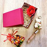 Подарочный набор с духами и брелком