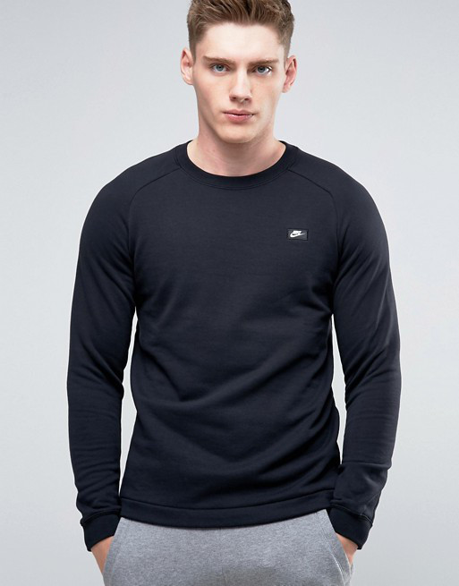Толстовка Nike NSW Modern French Crewneck 805126-010 (Оригинал)