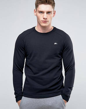 Толстовка Nike NSW Modern French Crewneck 805126-010 (Оригинал), фото 2