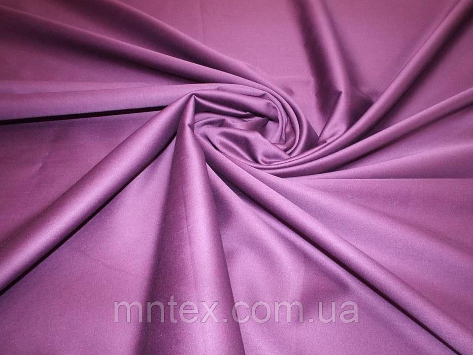 "Ткань для пошива постельного белья сатин гладкокрашеный Ирис / ""Чарівна Ніч"""