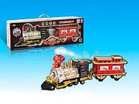 Музыкальный паровоз железная дорога 3043 с дымом на батарейке