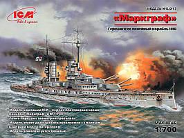 """""""Маркграф"""", Германский линейный корабль І МВ. 1/700 ICM S017"""