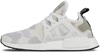 Женские кроссовки Adidas NMD XR1 Duck Camo White (люкс копия)