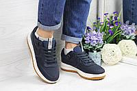 Кроссовки женские темно синие Nike Lunar Force LF-1 4602
