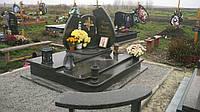 Пам'ятник надгробний подвійний з Маславського граніту Р500