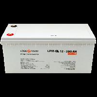 Аккумулятор гелевый 200Ач LogicPower LPM-GL 12-200