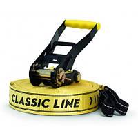 GIBBON CLASSICLINE XL X13 25 m Slackline Set yellow