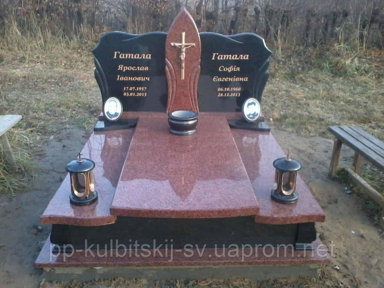 Пам'ятник надгробний подвійний Р501