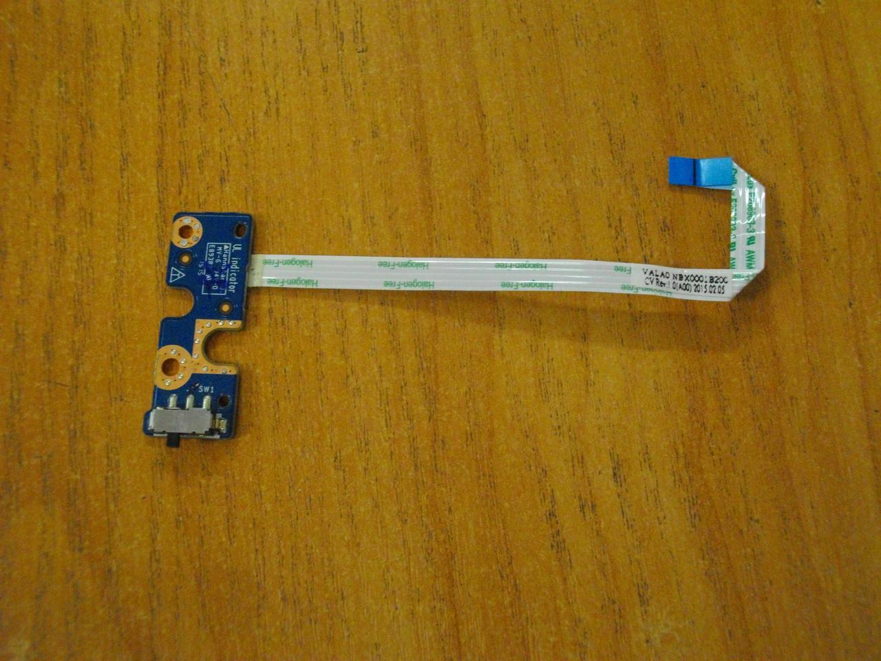 Плата с переключателем LS-9414P DELL Latitude E6540