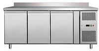 Стол холодильный Rauder SRHB 3200TN с бортом пристенным
