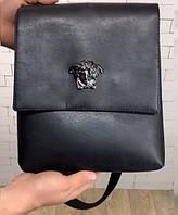 Сумка мужская Versace D2919 черная