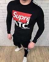 Спортивный костюм Supreme D2808 черный