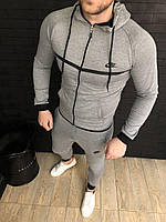 Спортивный костюм Nike D2814 серый, фото 1