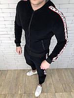 Спортивный костюм Givenchy D2906 велюровый черный