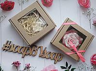 """Коробка с окошком """"Крафт"""" на 1 изделие , фото 1"""